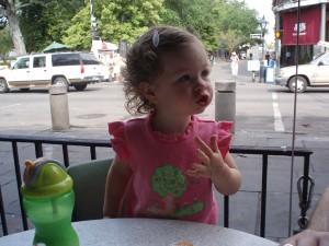 At Cafe Du Monde