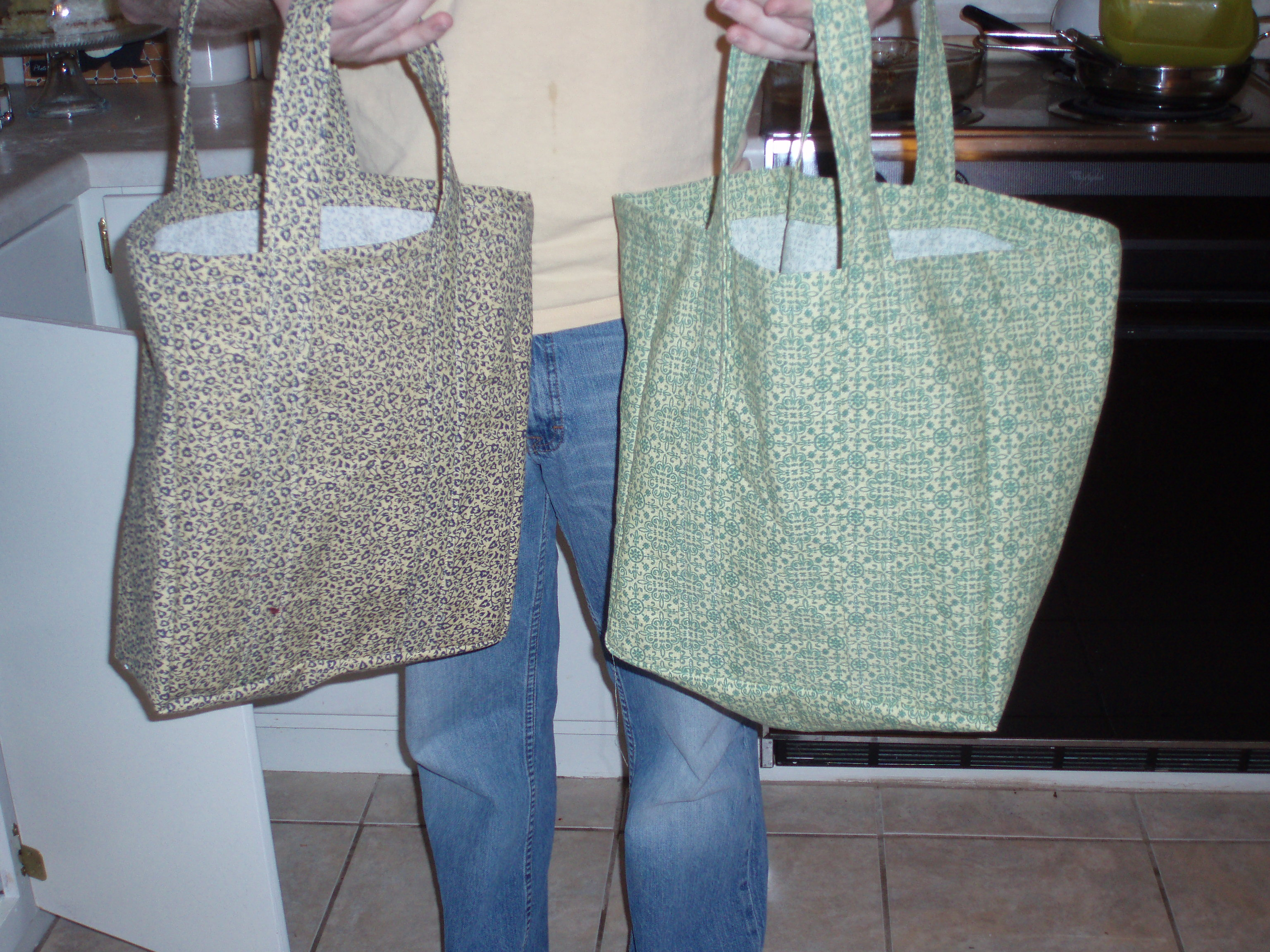 reusable shopping bag tutorial – Notes from the Parsonage
