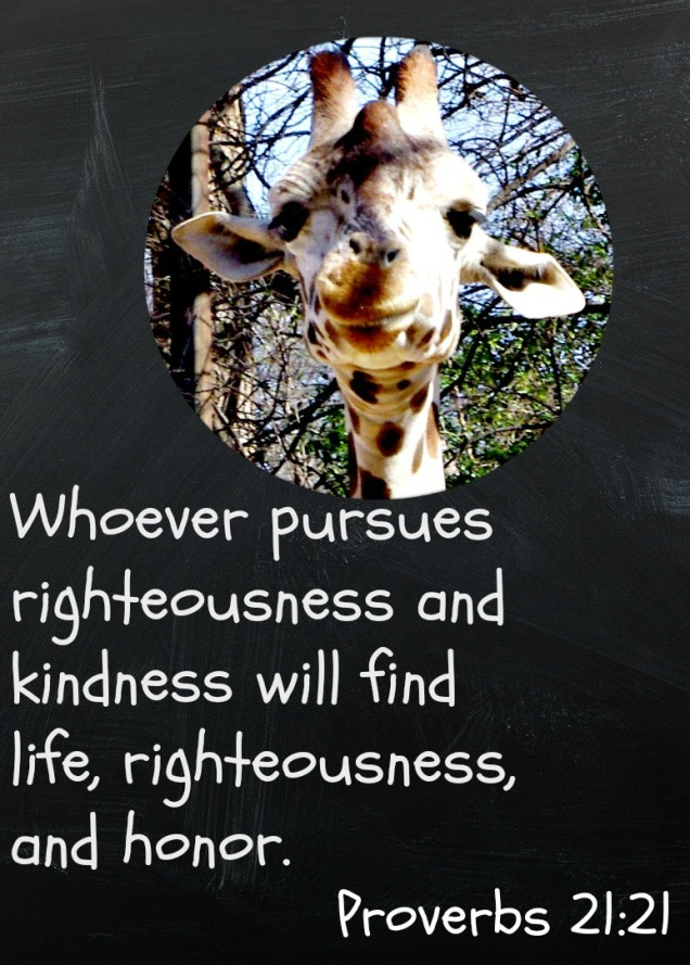 kindness weekly verse