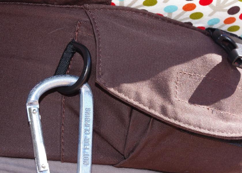 soleil key ring close up