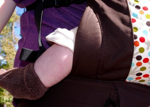 soleil leg padding close up