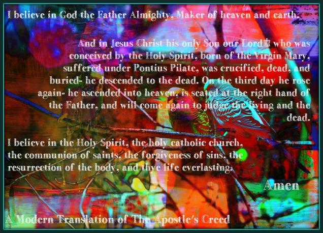 birds apostle's creed