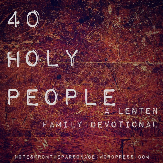 40 holy people