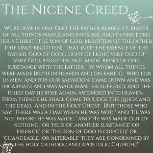 the nicene creed analysis essay The nicene creed  this summary of faith encompassed in a few words the  whole knowledge of the true religion contained in the old and new testaments.