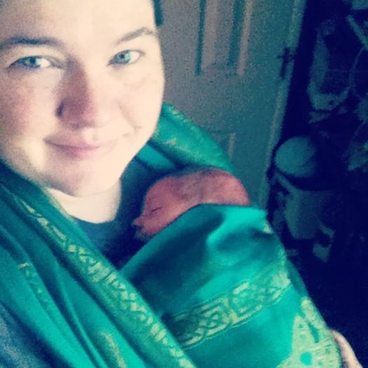 CB newborn wrap