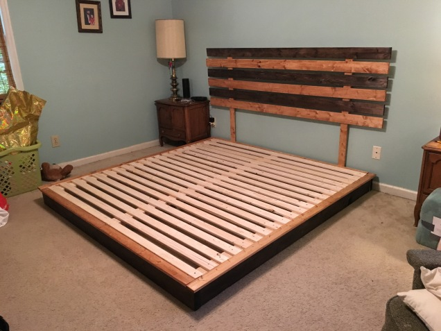 bed no mattress