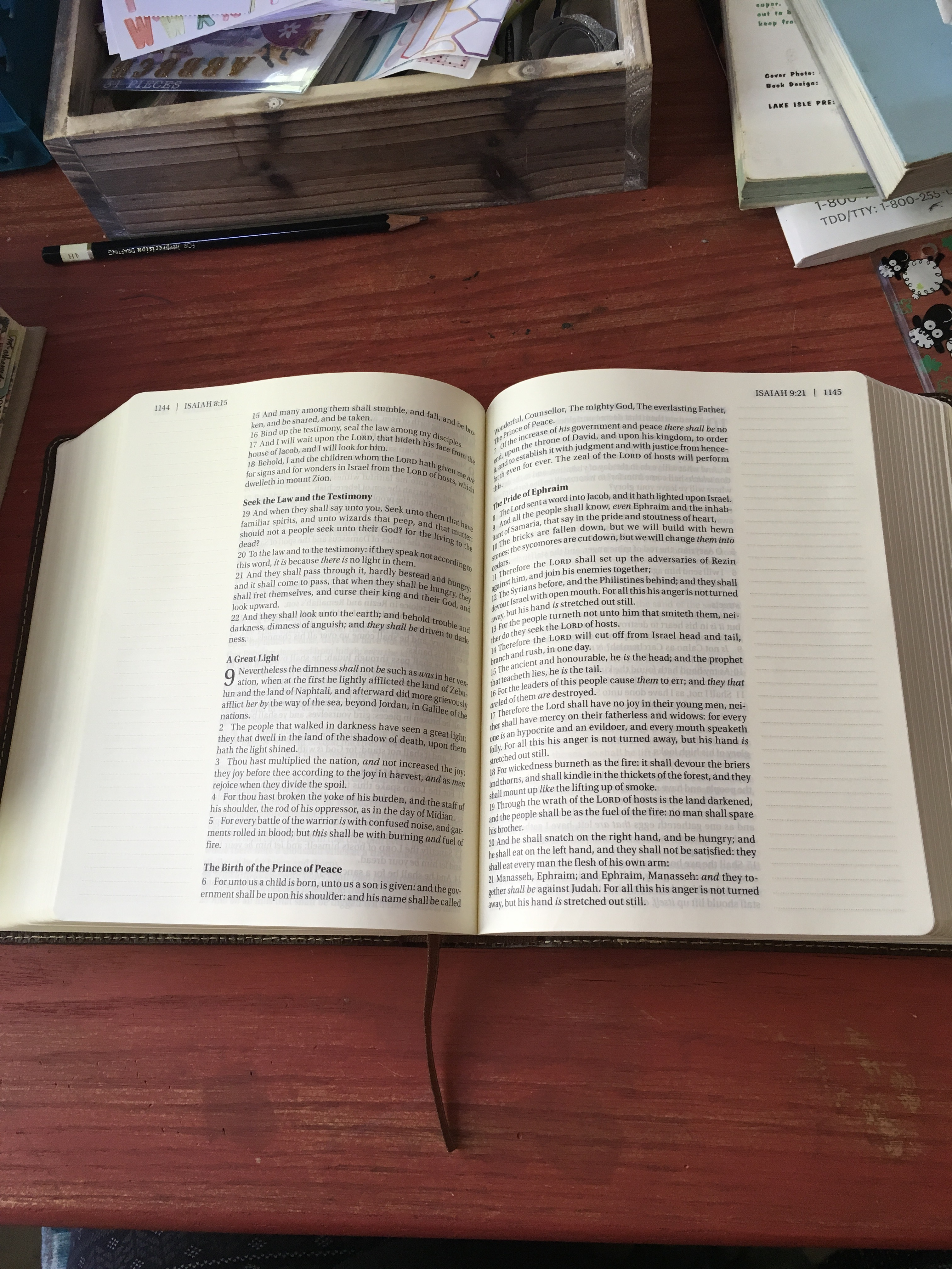 From The Altar – Page 2 – Notes from the Parsonage